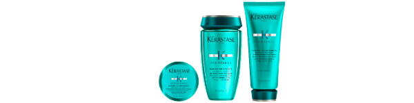 Brand series Resistance - care for weakened long hair