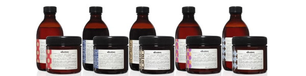 Brand series Alchemic - shade shampoos and conditioners