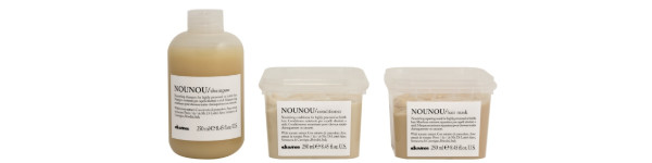 NOUNOU Essential Haircare - for dry or chemically damaged hair