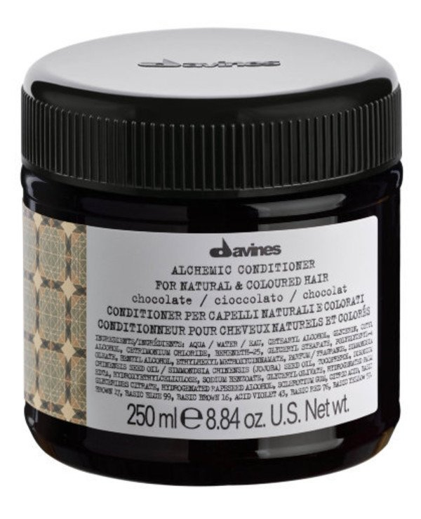 Davines - Кондиционер Алхимик Шоколад Alchemic Conditioner Chocolate For Natural And Coloured Hair Шоколад, 250мл