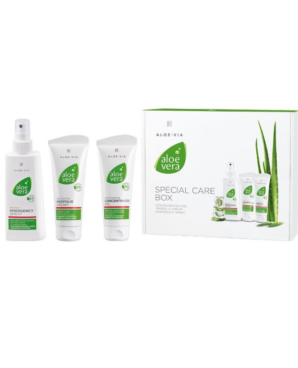 LR health & beauty - First Aid Kit Aloe Vera Special Care Box