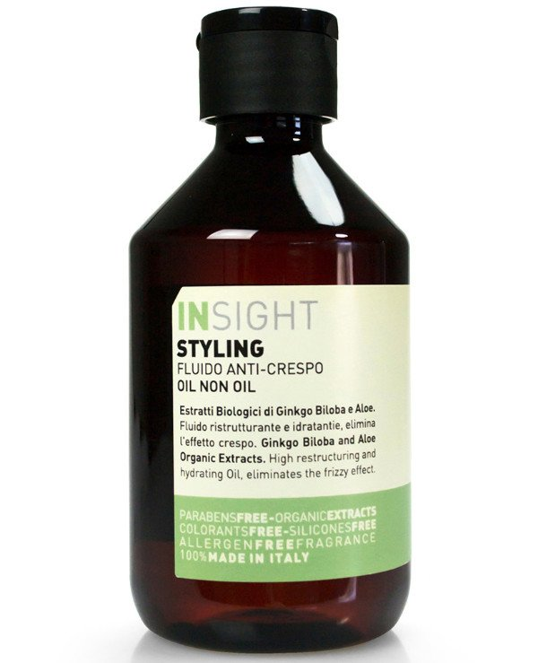 Insight Cosmetics - Oil without oil for hair styling Styling Oil Non Oil