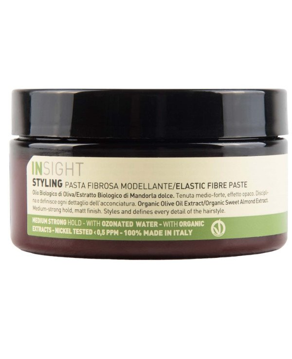 Insight Cosmetics - Modeling paste for hair fixation Styling Elastic Fibre Paste