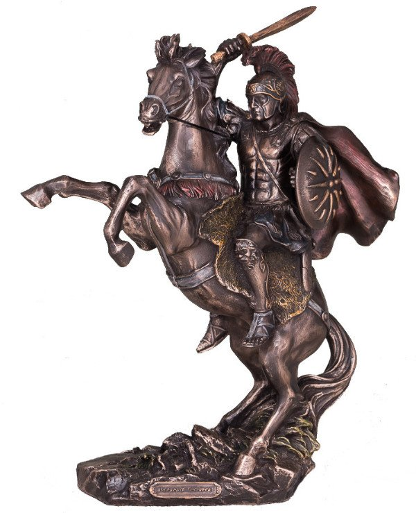 "Veronese - Statuette ""Alexander the Great"" (30 * 22 cm)"