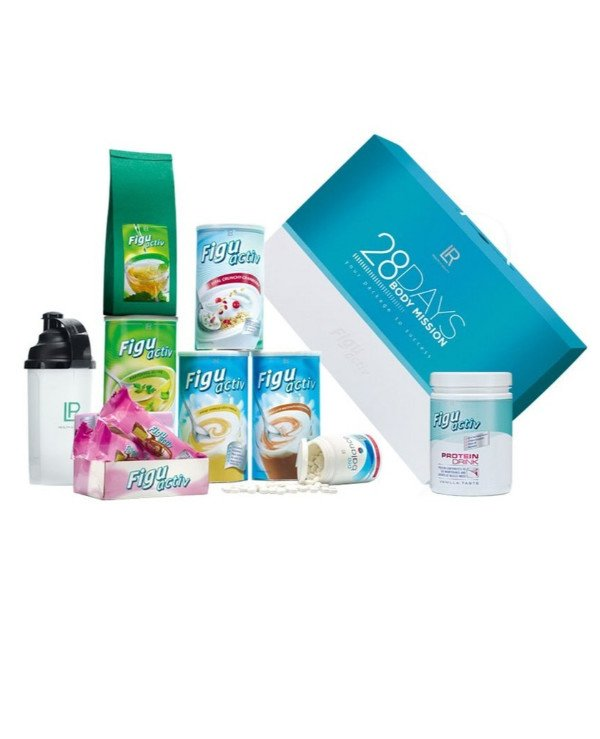 "LR health & beauty - The program for weight loss ""28 days - Expert"" Figuactiv Body Mission"