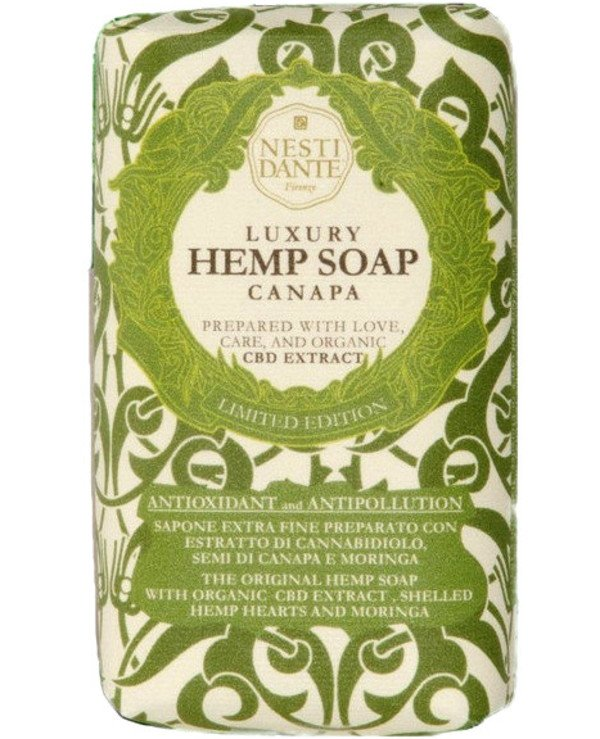 Nesti Dante - Мыло конопляное Luxury Hemp Soap Canapa 250 г