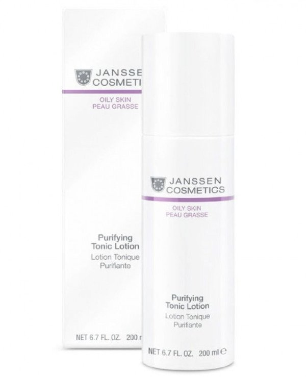 Janssen cosmetics - Tonic for oily skin Oily Skin Purifying Tonic Lotion