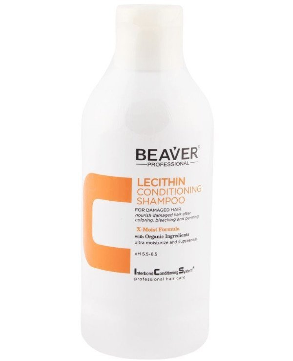 Beaver professional - Restorative shampoo with lecithin for brittle and split ends I.C.S Lecithin Conditioning Shampoo