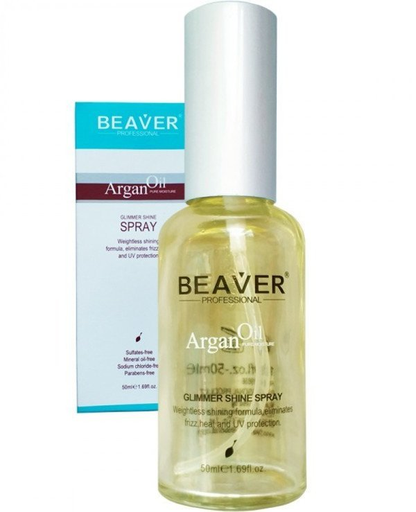 Beaver professional - Shine & Shimmer with Argan Oil Argan Oil Glimmer Shine Spray