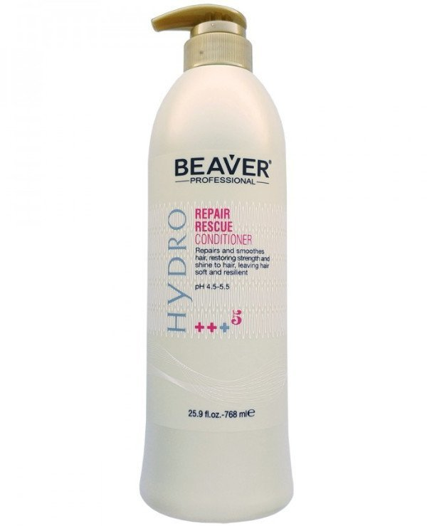 Beaver professional - Conditioner for intensive restoration of damaged hair Hydro Repair Rescue Conditioner