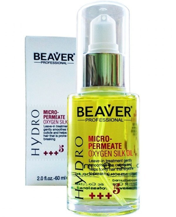 Beaver professional - Micro-penetrating oil with silk proteins Hydro Micro-Permeate Oxygen Silk Oil