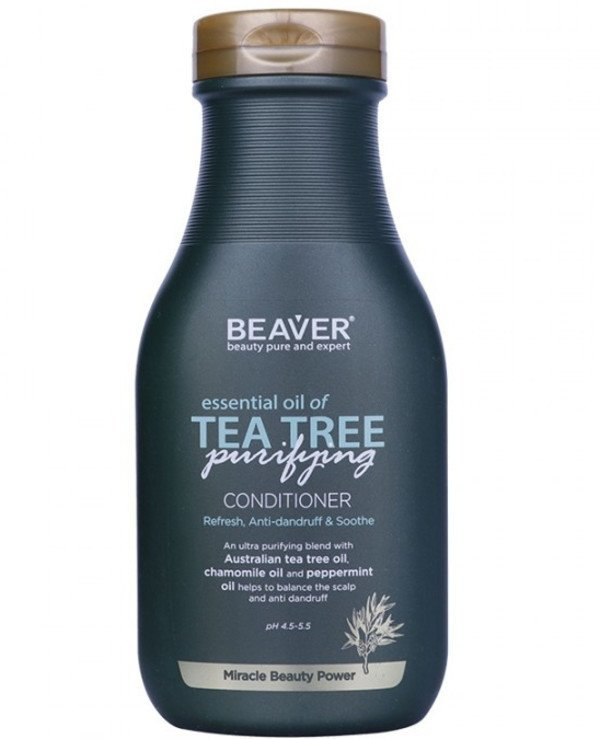 Beaver professional - Firming hair conditioner with tea tree oil Herbal Series SLS Free Essential Oil of Tea Tree Conditioner