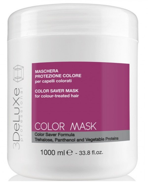 3Deluxe Professional - Mask for dyed and damaged hair Color Mask