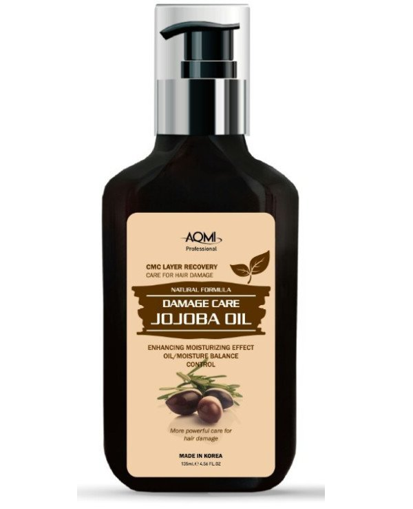 Aomi - Jojoba Repairing Damaged Hair Oil Jojoba Oil Essence