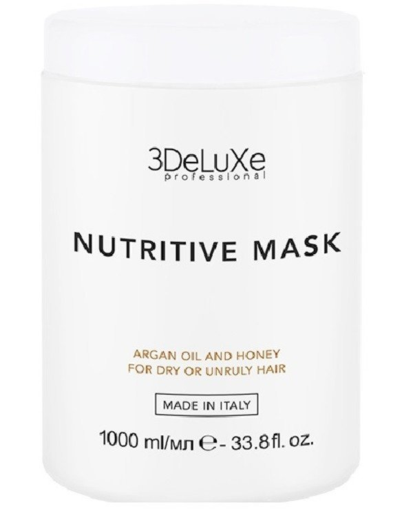 3Deluxe Professional - Mask for dry hair Nutritive Mask