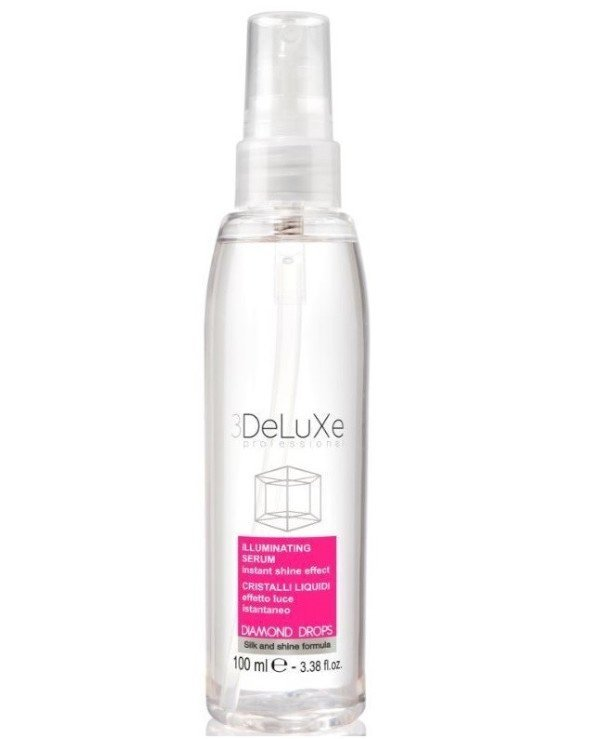 3Deluxe Professional - Liquid luminescent crystals from broken ends Diamond Drops Illuminating Serum