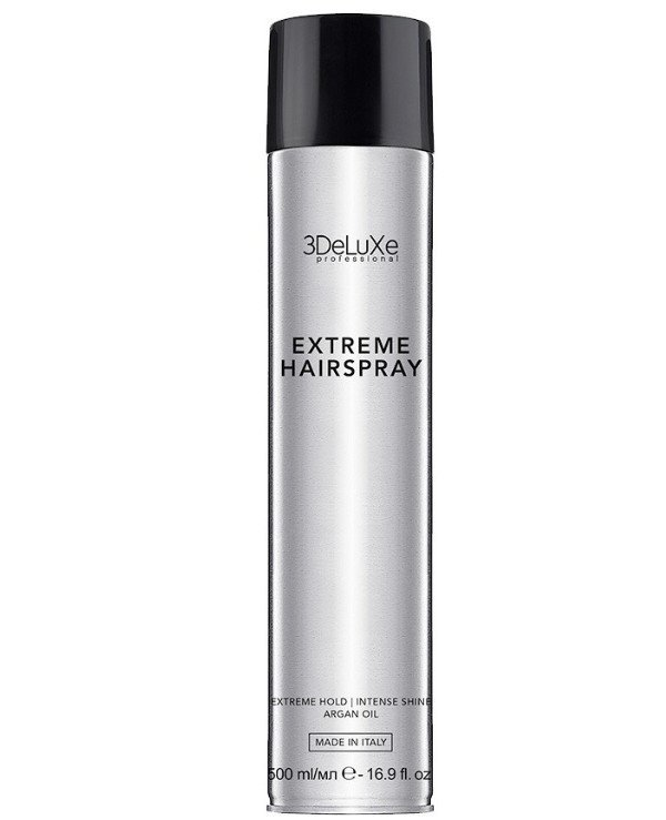 3Deluxe Professional - Extra strong hold hairspray Extreme Hairspray
