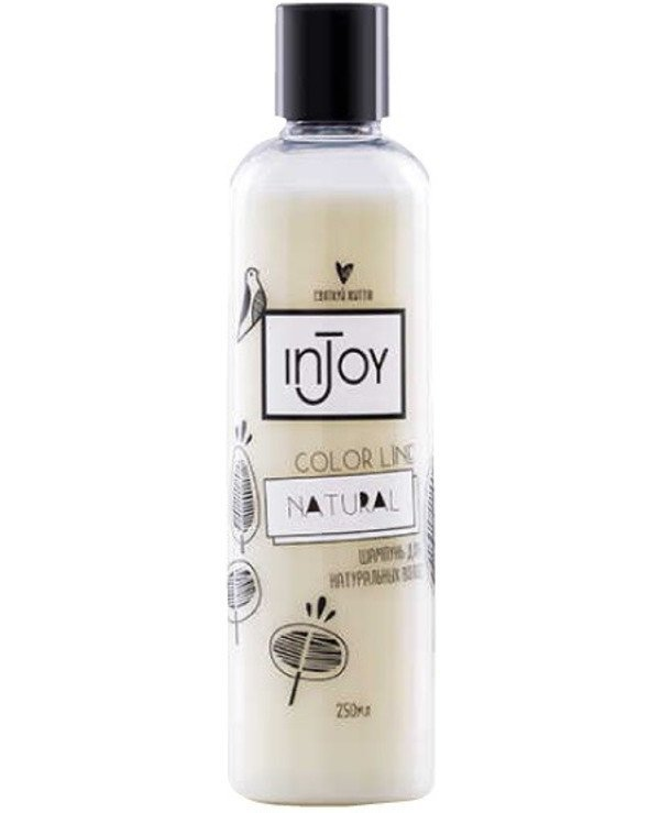 InJoy - Shampoo for natural hair Color Line Natural Shampoo