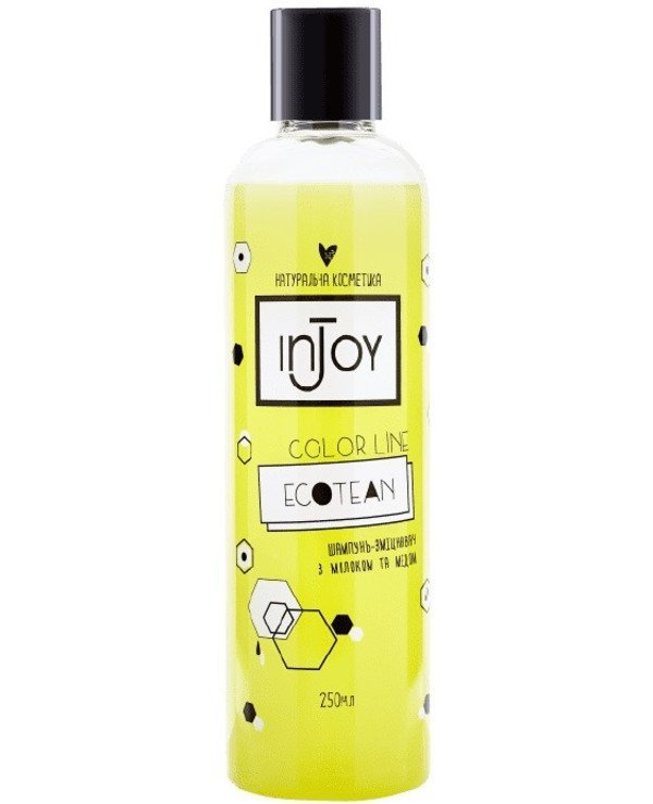 InJoy - Strengthening shampoo with milk and honey Color Line Ecotean Shampoo