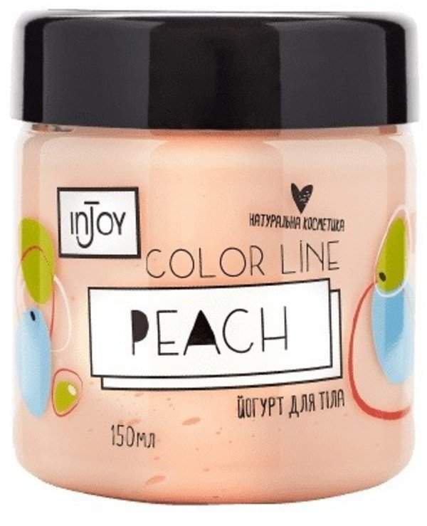 InJoy - Peach Body Yogurt Color Line Peach Yogurt 150ml