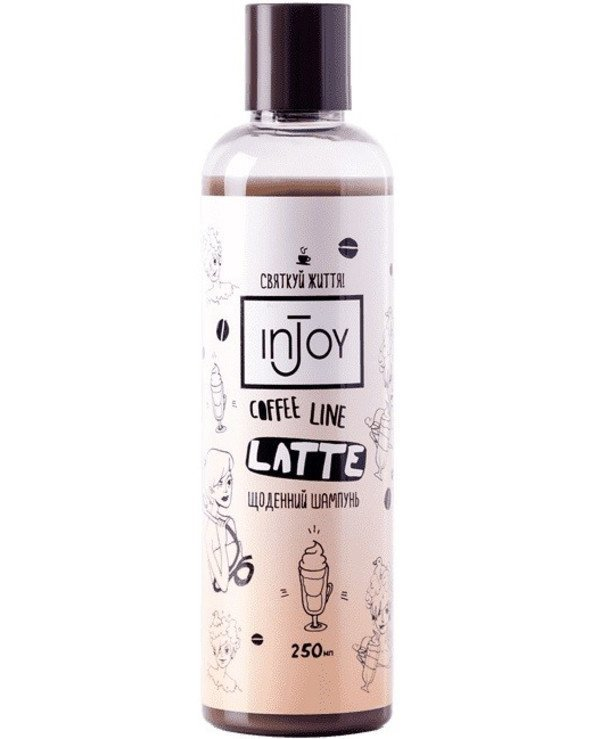 InJoy - Daily shampoo Coffee Line Latte Shampoo 250ml