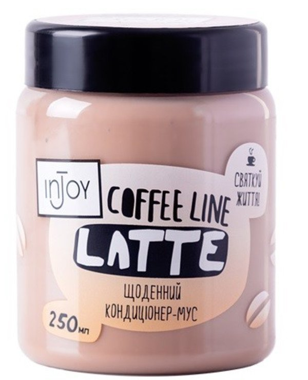 InJoy - Intensive hair conditioner daily Coffee Line Latte Conditioner