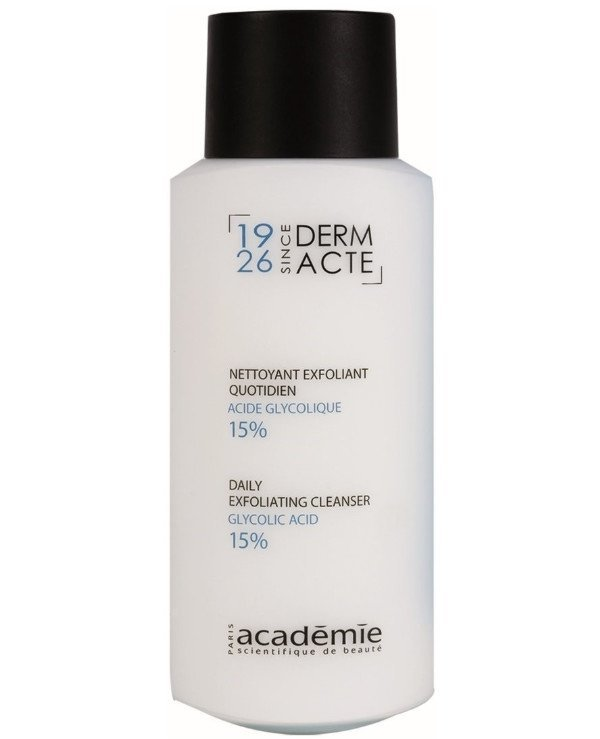 Academie - Exfoliating emulsion with glycolic acid 15% Nettoyant exfoliant quotidien acide glycolique 15% 250ml