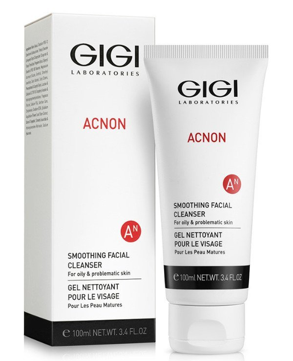 Gigi cosmetics - Soothing Cleansing Gel Acnon Smoothing Facial Cleanser 100ml