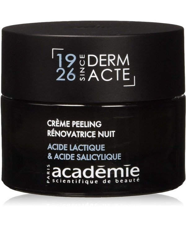 Academie - Night Renewing Exfoliating Cream Creme peeling renovatrice nuit acide lactique & acide salicylique 50ml