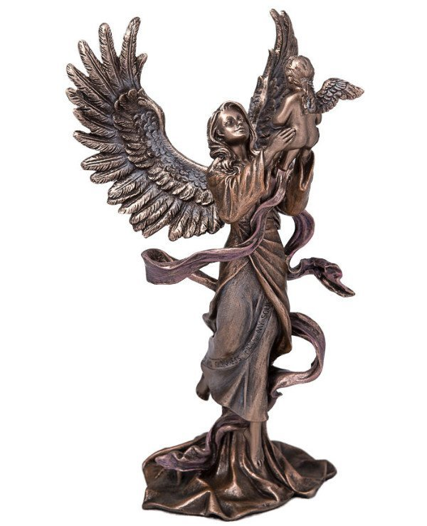"Veronese - Figurine ""The Birth of an Angel"" (22 cm) Gift with care, love from Veronese"