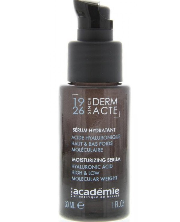 Academie - Moisturizing serum with hyaluronic acid Serum hydratant acide hialuronique haut &bac poids moleculaire 30ml
