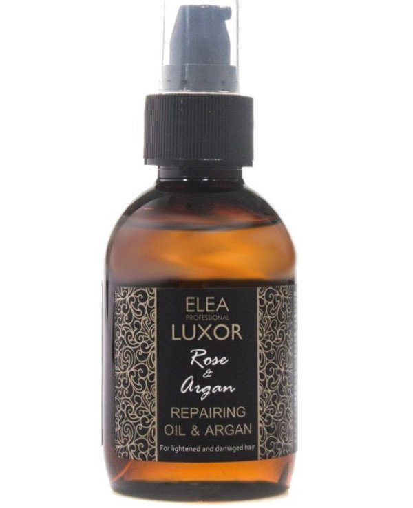 Elea Professional - Restoring oil for bleached and damaged hair Repairing Rose & Argan Oil For Lightened and Damaged Hair