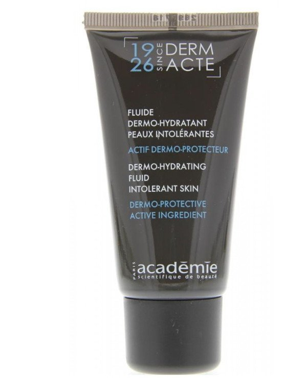 Academie - Adaptive moisturizing emulsion for oily and combination skin with hypersensitivity Fluide dermo-hydratante peaux intolerantes 50ml