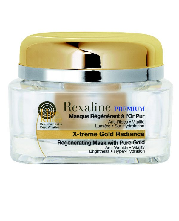 Rexaline - Mask for regeneration and restoration of skin with pure gold X-treme Gold Radiance