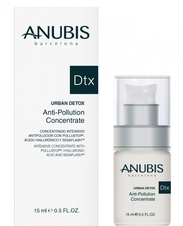 Anubis Barcelona - Intense action concentrate Urban Detox Anti-Pollution Concentrate