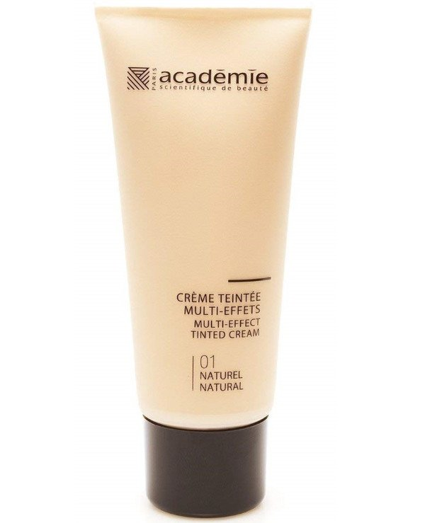 Academie - Multi-effect foundation (tone 1, NATURAL) Creme teintee multi-effets