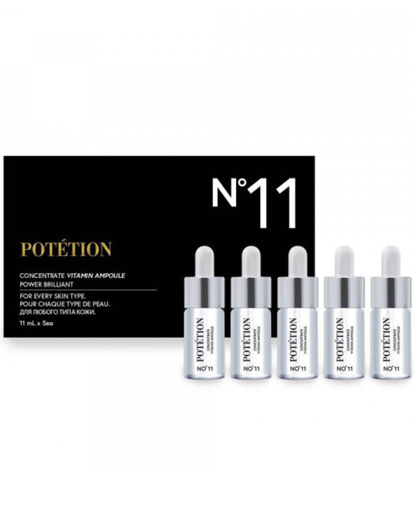 Potetion - Vitamin Ampoule Concentrate Concentrate Vitamin Ampoule 11ml * 5pcs