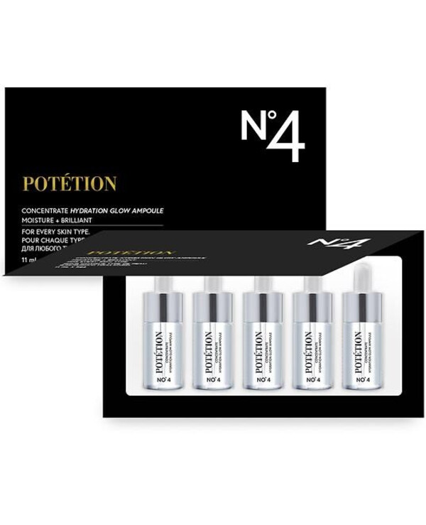 Potetion - Ampoule Moisturizing Concentrate Concentrate Hydration Glow Ampoule 11ml * 5pcs