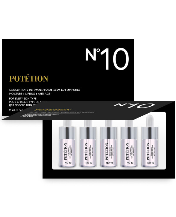 Potetion - Premium Anti-Aging Ampoule Concentrate Concentrate Ultimate Floral Stem Lift Ampoule 11ml * 5pcs