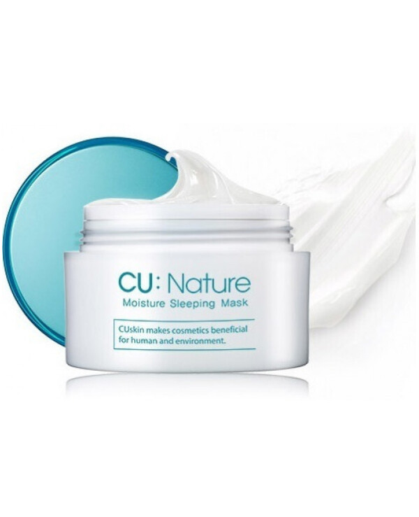 CU Skin - Moisturizing Night Mask Moisture Sleeping Mask 50ml