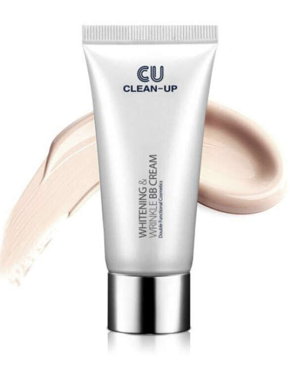 CU Skin - BB Cream with peptides Clean-Up Whitening & Wrinkle 30ml