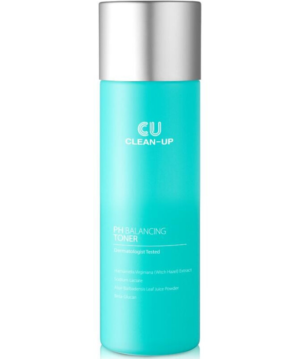 CU Skin - Balancing toner for all skin types Clean-Up ph Balancing Toner 200ml
