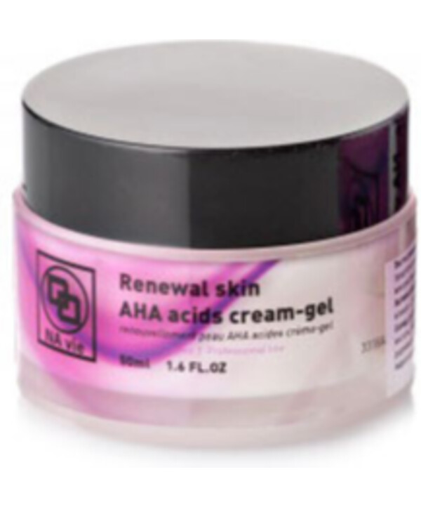 NAvie - AXA renewing gel cream Renewal skin AHA acids cream-gel