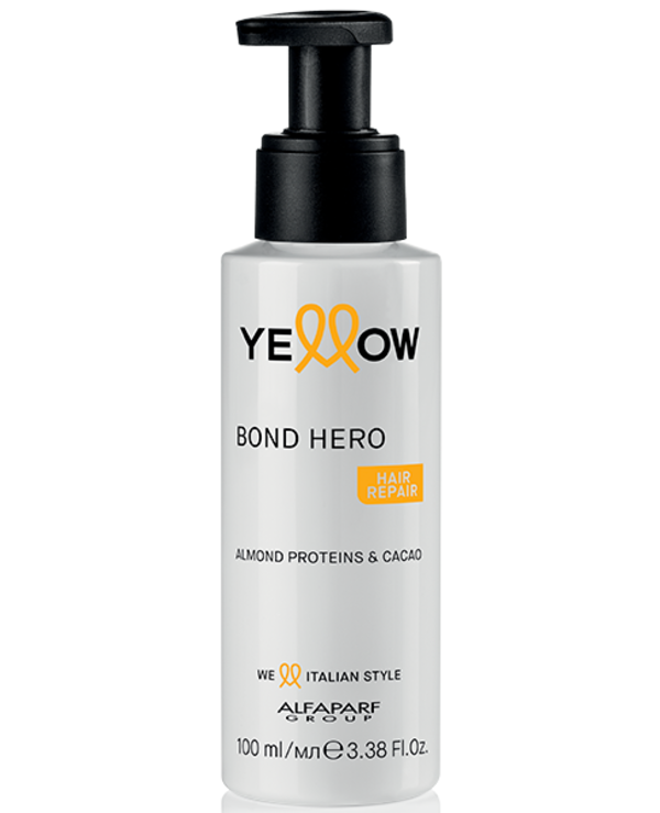 Yellow - Concentrated Hair Recovery Booster Repair Almond Proteins & Cacao Bond Hero 100ml