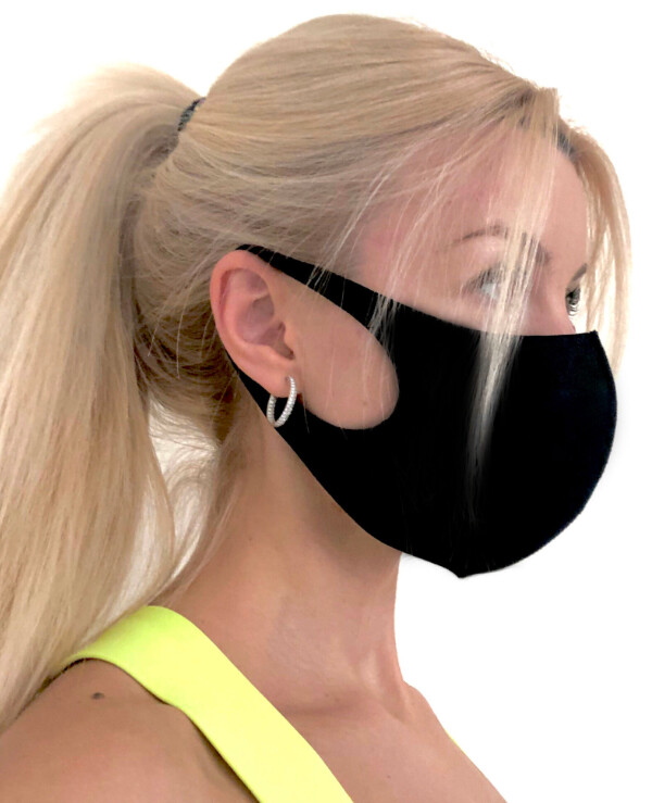 FMasks - Reusable face protection mask (universal)   back