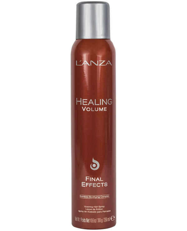 L'anza Lanza - Strong hold hairspray Healing Volume Final Effects