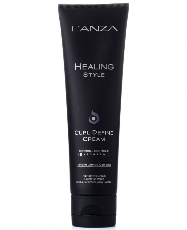 L'anza Lanza - Intensive restoration for curly hair Healing Curl Up Cream