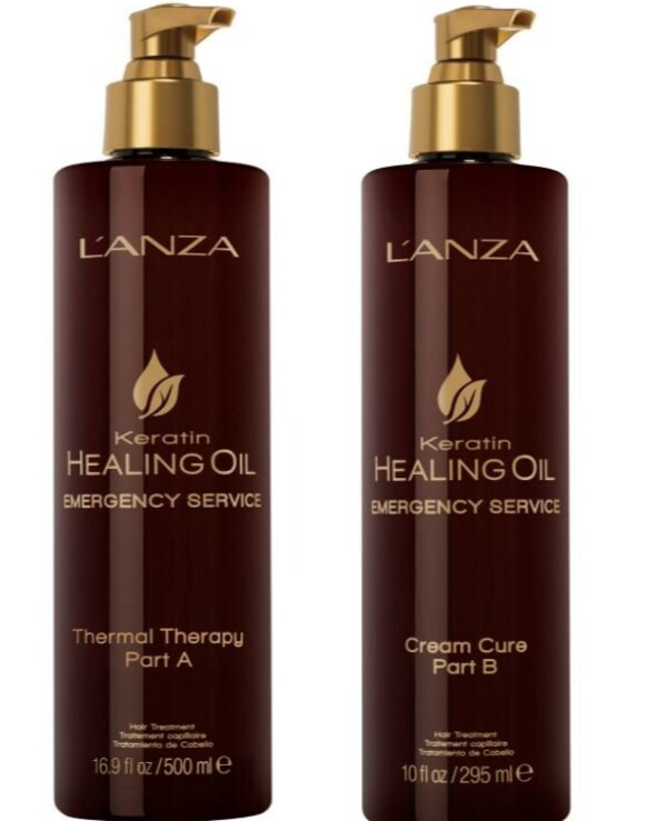 L'anza Lanza - Thermal therapy Keratin Healing Oil Emergency Service Thermal Therapy