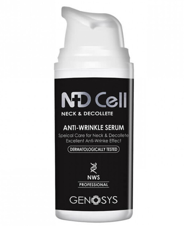 Genosys - Anti-wrinkle treatment serum for neck and décolleté NDCell Anti-Wrinkle Serum