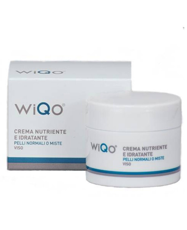 Wiqo - Cream for normal and combination skin Nourishing And Moisturizing Cream Normal Or Combination Skin 30ml